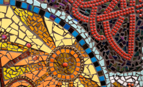 Groam House Museum mosaics