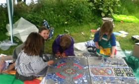 Iona School garden mosaic