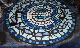 Pembroke Dock Community School welcome mosaic