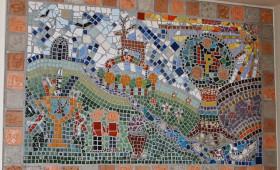 Lamphey School centenary mosaic